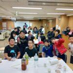 富ヶ谷柔道クラブ – 稽古始めのお汁粉会の様子